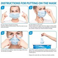 INSTRUCTION FOR PUTTING ON THE MASK