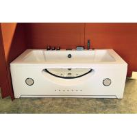 Cheap Double Jacuzzi Whirlpool Bath Tub Small Deep Soaking Tub Computer Control Ss for sale