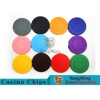 Best Roulette Dedicated / Solid Color ABS Poker Chips Can Be Custom or Print Logo wholesale