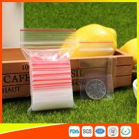 Cheap Easy Storage Packing Ziplock Bags 1-4 mil Thickness food grade and non-toxic for sale