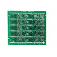 Best HASL Finish Prototype Double Side Pcb Quick Turn Fabrication Green wholesale