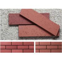 Best Customized Red wire cut Split Face Brick for Exterior Wall Decoration wholesale