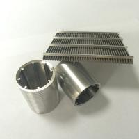 Best Wedge Wire Screen|Welded Mesh Slot Size 0.01mm 30~125V for Filtering wholesale