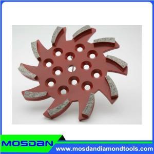 Best 250mm 10 Seg Diamond Floor Grinding Plate wholesale