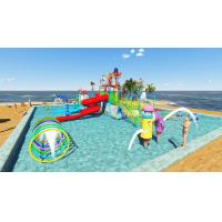 Buy cheap Kid Water Park Design Fiberglass Pool Play Water Equipment Commercial For Sale from wholesalers