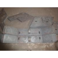China Sill Bar of High Chromium Cast Iron Chute Liners Made in China Hardness more than HRC50 on sale