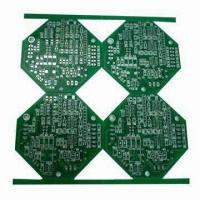 China FR-4 Double-sided PCB's with 2-layer Board, 2.0mm Thickness, HASL Lead-free and 5mm Tooling Strip on sale