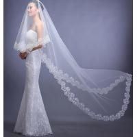 Best Lace Veil Bride Wedding Accessories in White LXTS-122/7 wholesale