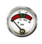 Best Brass Back Mount Diaphragm Fire Extinguisher Gauge With Mat / Polish Finishing wholesale