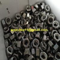 SS321 stainless steel hex jam nut hex head nut for sale