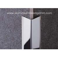 Best Polished Stainless Steel Tile Trim/ Angle Trim , Stainless Tile Edge Trim20mm X 20mm X 2.44m wholesale