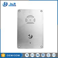 Best Rolling Dial Elevator Emergency Phone , Hands Free Phone PSTN / SIP Flush Mounted wholesale