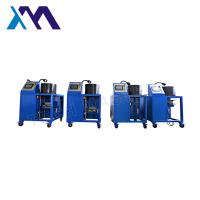 China High Acurracy Hydraulic Hose Crimping Machine To Repair Air Suspension Air Spring With Screen Fitting on sale