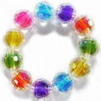 Best Children's Jewelry Bracelet, Made of Acrylic Beads, Customized Designs are Welcome wholesale