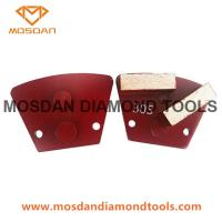 Best Trapezoid 2 bars STI  Prep/master Grinding Disc Plate for Concrete Finished wholesale