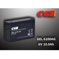 Best Maintenance Free 6V 10AH Gel Lead Acid Battery Sealed For Electric Power wholesale