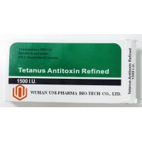 Quality Tetanus Antitoxin Refined 1500 I.U Subcutaneous/I.V. Injection Medicine for treatment and prevention of tetanus wholesale