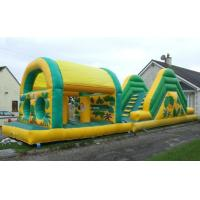 Best pvc material inflatable fun city for kids fun wholesale