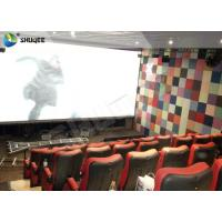 Best Large Capacity 4DM Motion Chair 4D Movie Theatre With Special Effect Control System wholesale