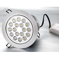 Best 18W 50000h Epistar / Edsion / Cree High Power Dimmable CE Led Recessed Ceiling Lights Bulb wholesale