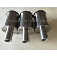 Buy cheap 304 Stainless Steel Water Filter Nozzle O.D 57mm Wedge Wire Strainer from wholesalers