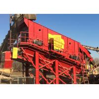 Best 20° Mining Vibrating Screen 37Kw Dual Drive - Electronically Synchronized wholesale