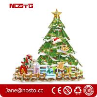 Best 3D Puzzle Chrismas Tree with Clear Light,Easy-assembly DIY Xmas Decoration wholesale