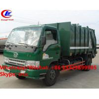 Best Factory sale good price FAW brand 4*2 LHD 5m3 garbage compactor truck, HOT SALE! lower price wastes collecting vehicle wholesale