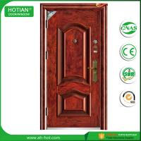 Best China professional manufacturer house residential steel security door single door for hotel main entrance wholesale