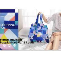 Best POLYESTER NYLON BAGS, BASKET, ECO CARRIER, REUSABLE TOTE BAGS, SHOPPING HANDY HANDLE VEST, FOLDABLE wholesale
