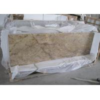 Best Prefab Laminate Natural Stone Countertops For Kitchens Yellow African Dragon Granite Material wholesale