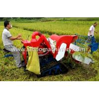 Best 4LZ-0.8 without tail pulley mini muddy field applicable wheat combine harvester wholesale