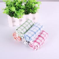 Best Kitchen Yarn Dyed Towels Stripes Printed Tea Towels With Colorful Checkered For Dry Pot wholesale