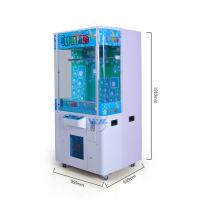 Best 1 Player Toys Claw Machine Temper Glass Material With English / Chinese Version wholesale