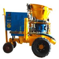 China Swimming Pool Concrete Spraying Equipment Thin Flow Conveying Method With Vortex Flow on sale