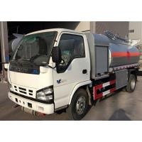 China ISUZU 5cbm 4*2 Fuel Delivery Tanker Oil Petrol Diesel Transport And Refueling Truck 5000L on sale