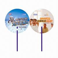 Best Hand Fans for Promotional Purposes, Customer's Logos Printings are Available, Made of PP wholesale