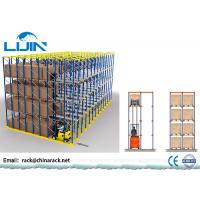 Best Forklift Warehouse Pallet Racking Systems ,  1000-2500kg / Arm Drive Through Racks wholesale
