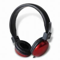 Buy cheap DJ Headphones with Heat-transfer Coating, 20Hz to 20kHz Frequency Response and from wholesalers