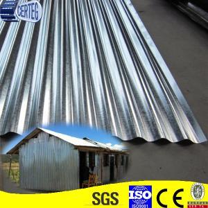 Best Corrugated Zinc Coated Iron Roof Sheet wholesale
