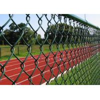 Best 40 * 40mm strong Chain Link Fence for Forest Protecting and Playground wholesale