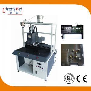 Quality Non - Blocking Nut Crashing Chute Screw Tightening Machine With 0.01mm Precision wholesale