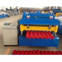 Best Steel Step Tile Making Machinery / Glazed Tile Cold Rolled Forming Machine wholesale