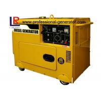 Single Phase Small 5.5kVA Silent Diesel Generator Low fuel consumption