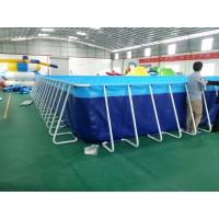 Details Of Eco Friendly Inflatable Metal Frame Swimming Pool For Water Park 104369557