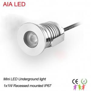 Best Round 1W  IP67 waterproof  LED underground light/LED underground lampst/LED path light wholesale