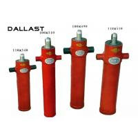 Best Single Acting Telescopic Cylinder Chrome 2 Stage Bore 110mm TS16949 Certification wholesale