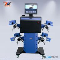 Best Car 3D Wheel Aligner Automatic Machine High Precision With Adjustable Camera Beam wholesale