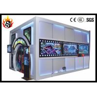 Best Beautiful 6D Movie Theater with 19 Inches LCD and Louder Speaker wholesale