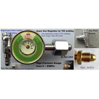 China High Pressure Gauge for Argon gas cylinder on sale